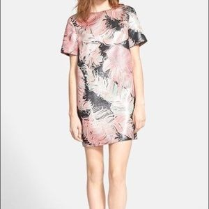 KATE SPADE FEATHER SHELL DRESS
